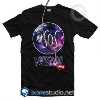 5 Seconds Of Summer Galaxy T Shirt