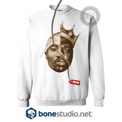 Tupac Shakur And The Notorious Big Sweatshirt