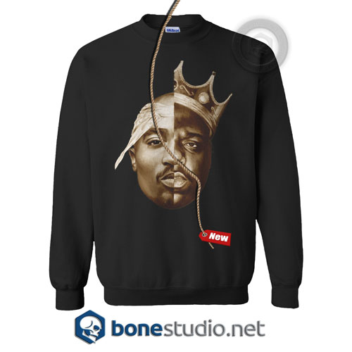 Tupac Shakur And The Notorious Big SweatshirtTupac Shakur And The Notorious Big Sweatshirt