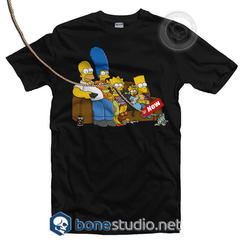 Bart Simpson Family T Shirt