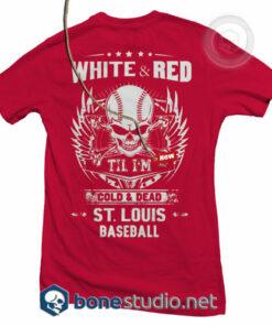 St Louis Baseball T Shirt