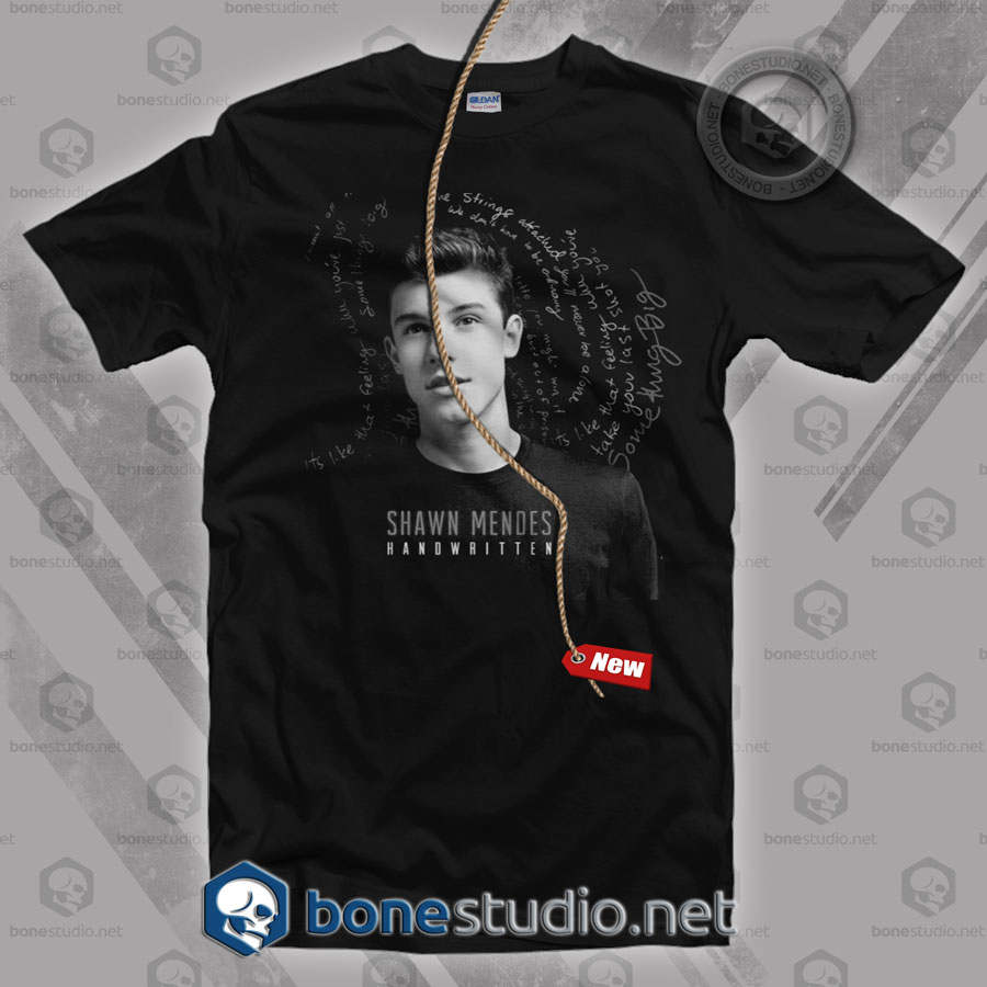 54594ab09763 Shawn Mendes T Shirt - Adult Unisex Size S-3XL