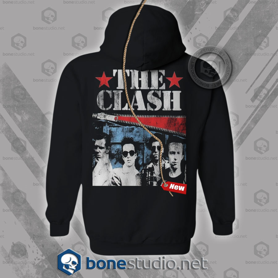 The Clash Hoodies