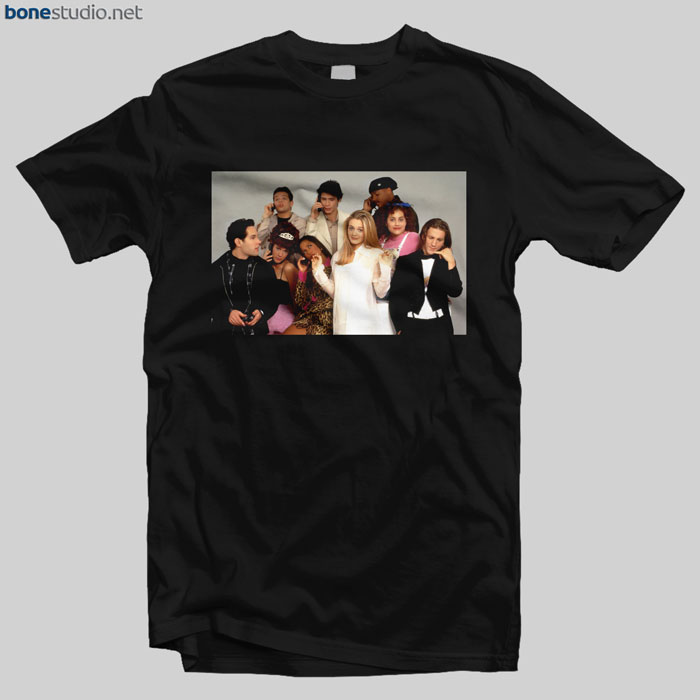 Clueless Cast T Shirt