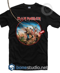 The Trooper Iron Maiden T Shirt