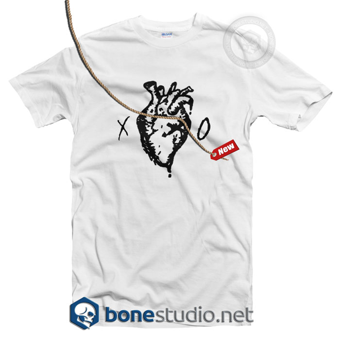 XO Heart Logo T Shirt