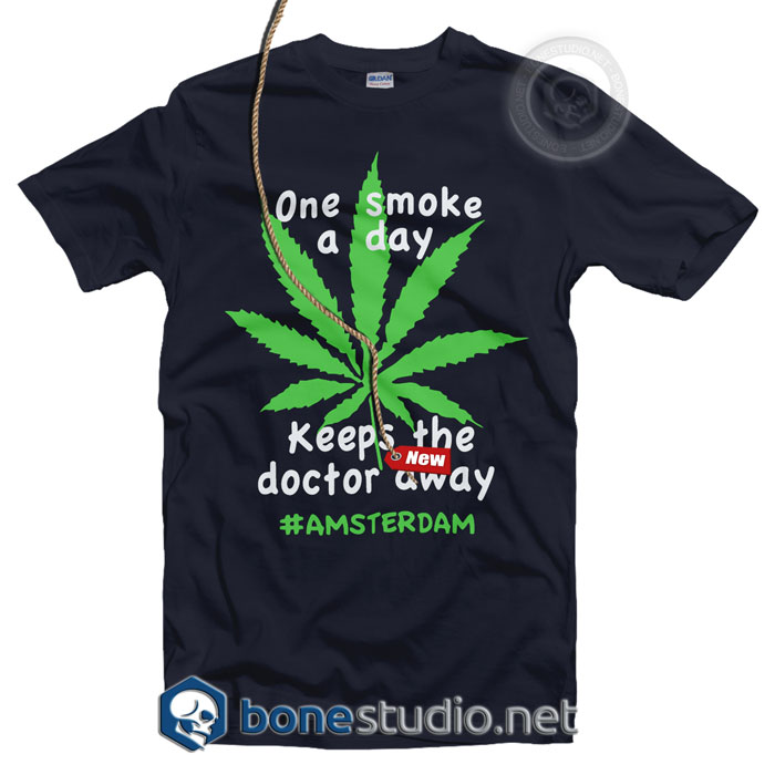 Amsterdam One Smoke A Day T Shirt