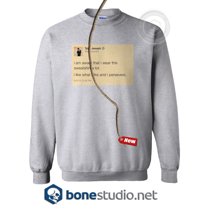 Tyler Joseph Tweet Twenty One Pilots Sweatshirt,Tyler Joseph Tweet Sweatshirt
