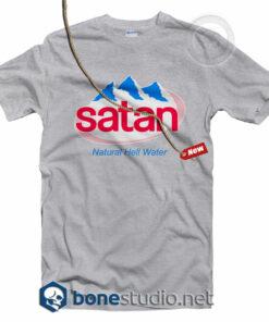 Satan T Shirt Natural Hell Water