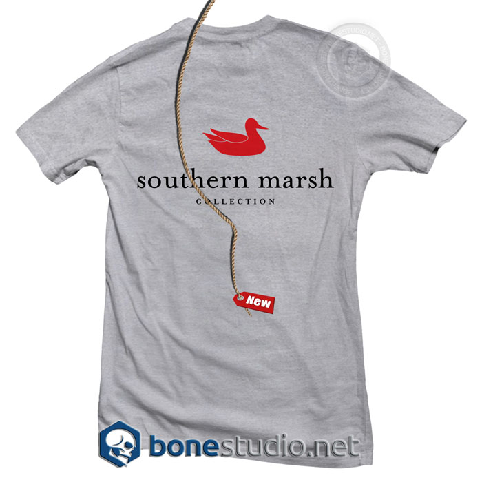 Southern Marsh Authentic T Shirt Uni Size S 3xl