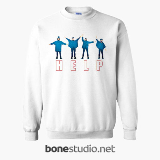Help The Beatles Sweatshirt