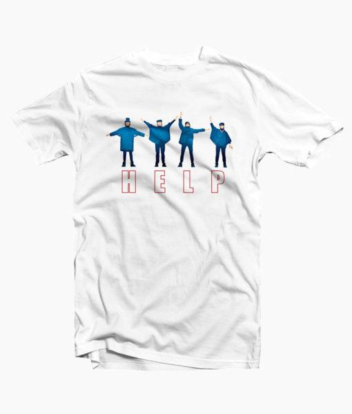 Help The Beatles T Shirt