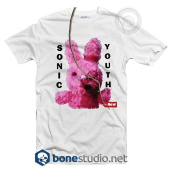 Dirty Bunny Sonic Youth T Shirt