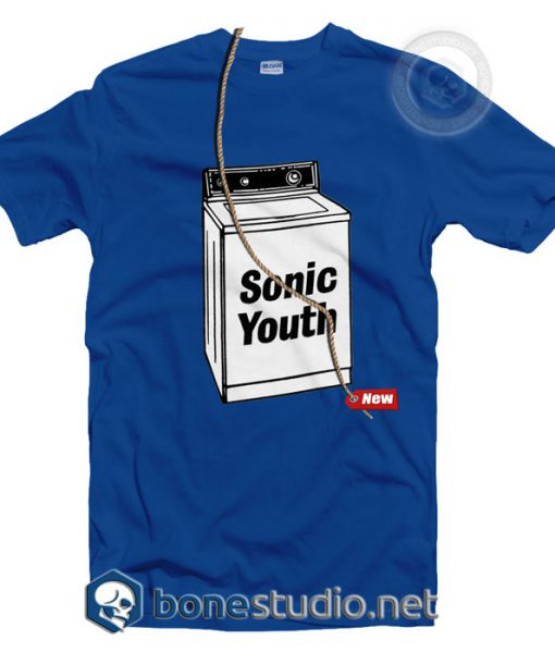 Washing Machine Sonic Youth T Shirt