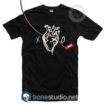 XO Heart Logo T Shirt