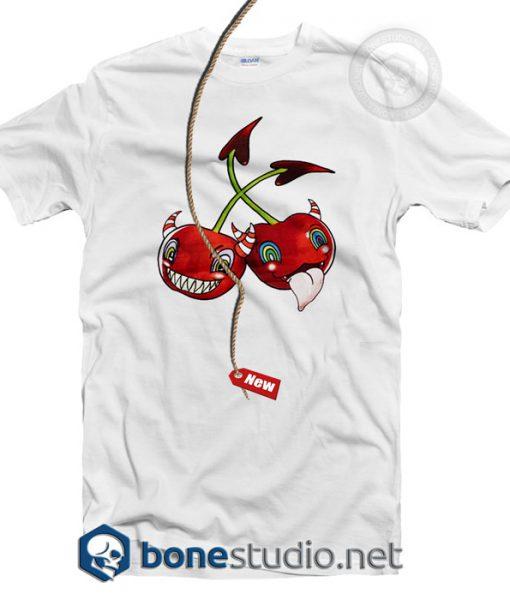 Ammerman Schlosberg Devil Cherry T Shirt