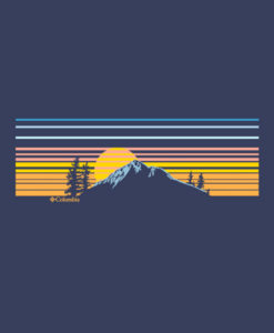 Columbia Mountain T Shirt
