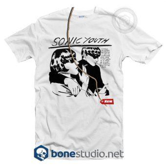 Goo Cartoon LP Sonic Youth T Shirt