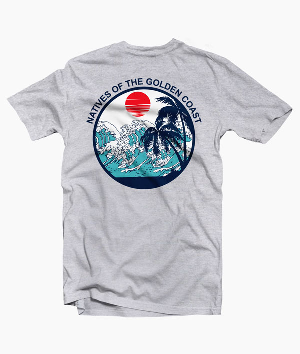 Natives Of The Golden Coast T Shirt