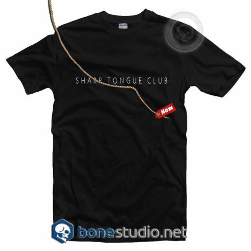 Sharp Tongue Club T Shirt