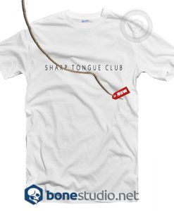 Sharp Tongue Club T Shirt