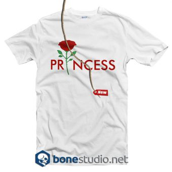 princess rose t shirt