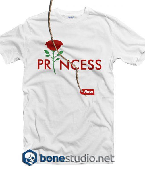 princess rose t shirt