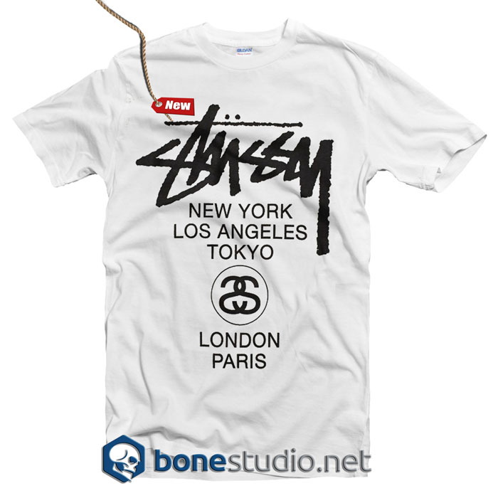 Stussy H12 World Tour T Shirt