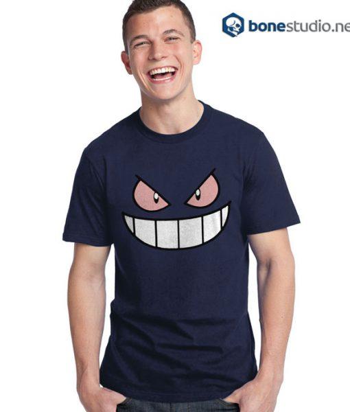 Pokemon Gengar Funny Face T Shirt