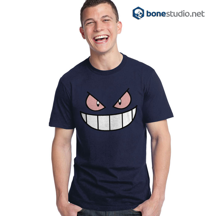 Pokemon Gengar Funny Face T Shirt