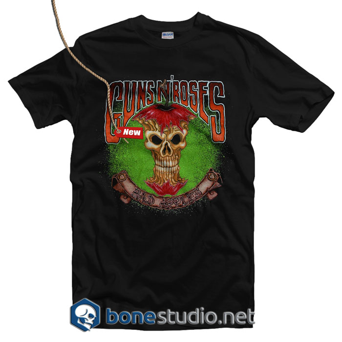 Guns N Roses Bad Apples T Shirt