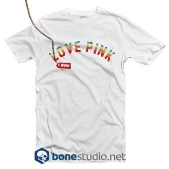 Love Pink T Shirt