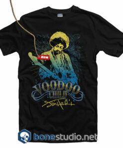 Jimi Hendrix Voodoo Child T Shirt