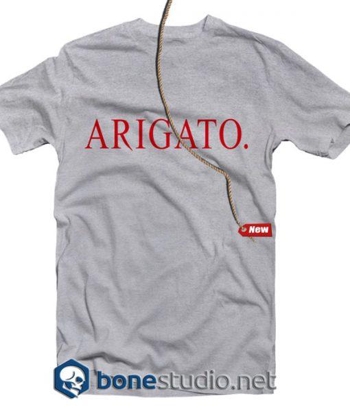 Arigato T Shirt