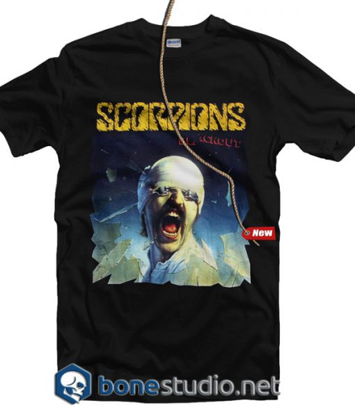 Scorpion Black Out T Shirt