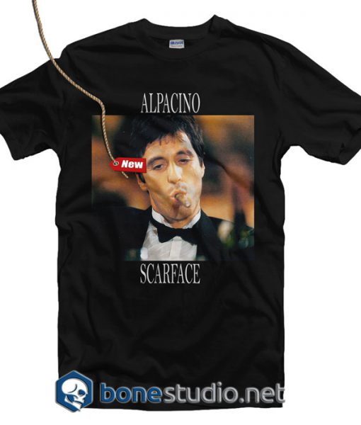 Alpacino Scarface T Shirt