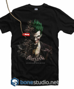 Batman Joker Face T Shirt