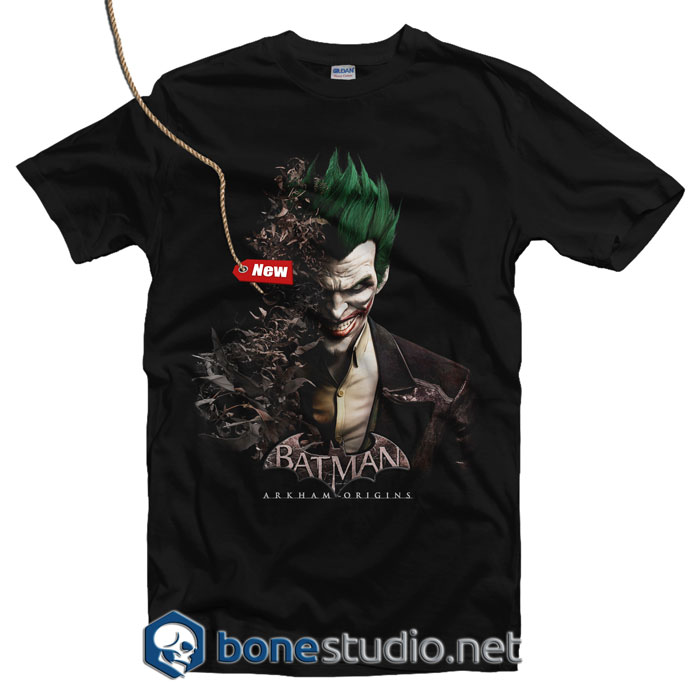 Batman Joker Face T Shirt