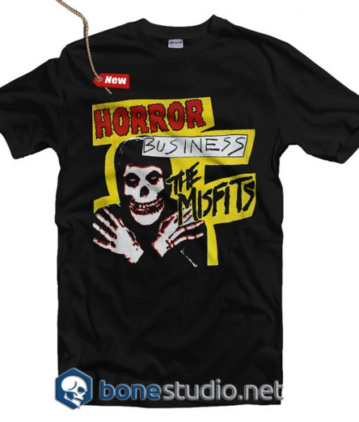 Misfits Horror Business T Shirt