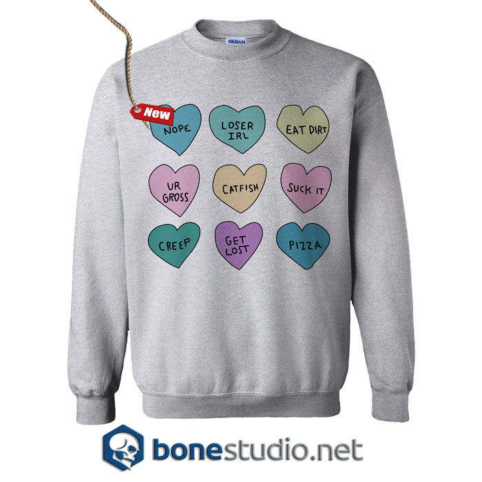 Mean Heart Sweatshirt