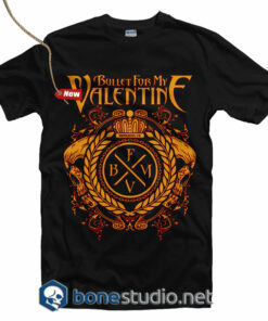 Bullet For My Valentine logo T Shirt