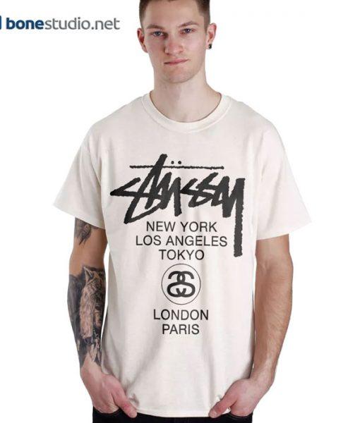 Stussy H12 World Tour T Shirt