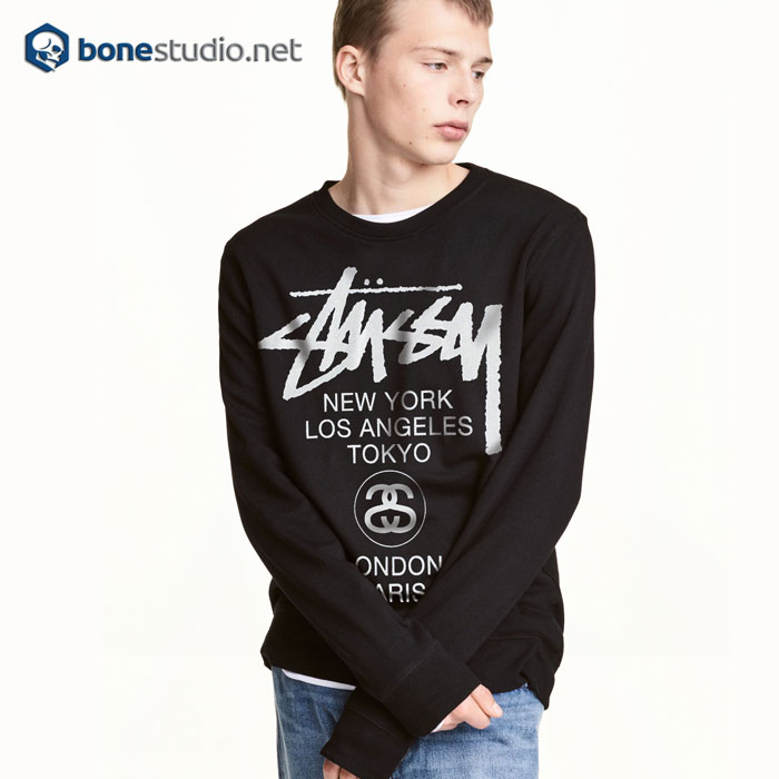 Stussy H12 World Tour Sweatshirt