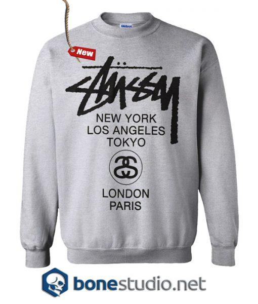 Stussy H12 World Tour Sweatshirt