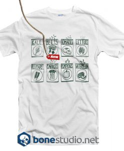 Garden Seeds Screen Kale Beet Tomatoes T Shirt