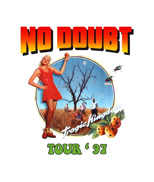No Doubt Tragic Kingdom T Shirt