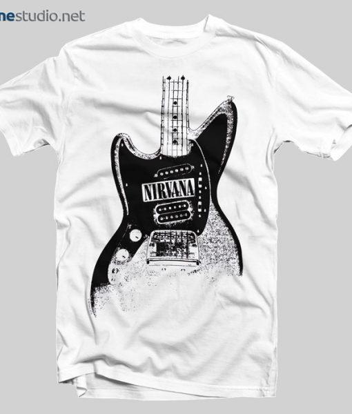Nirvana T Shirt Guitar