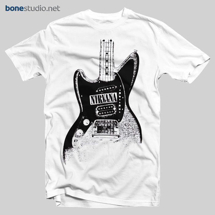 Nirvana T Shirt Guitar