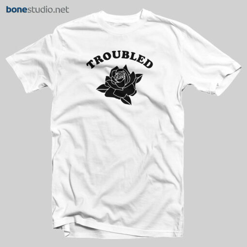 Troubled Rose T Shirt