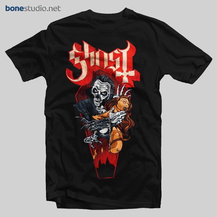 Ghost T Shirt Dracula